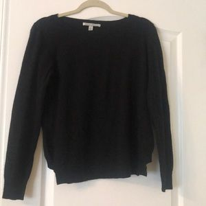 Autumn Cashmere Black Long Sleeve Size Medium